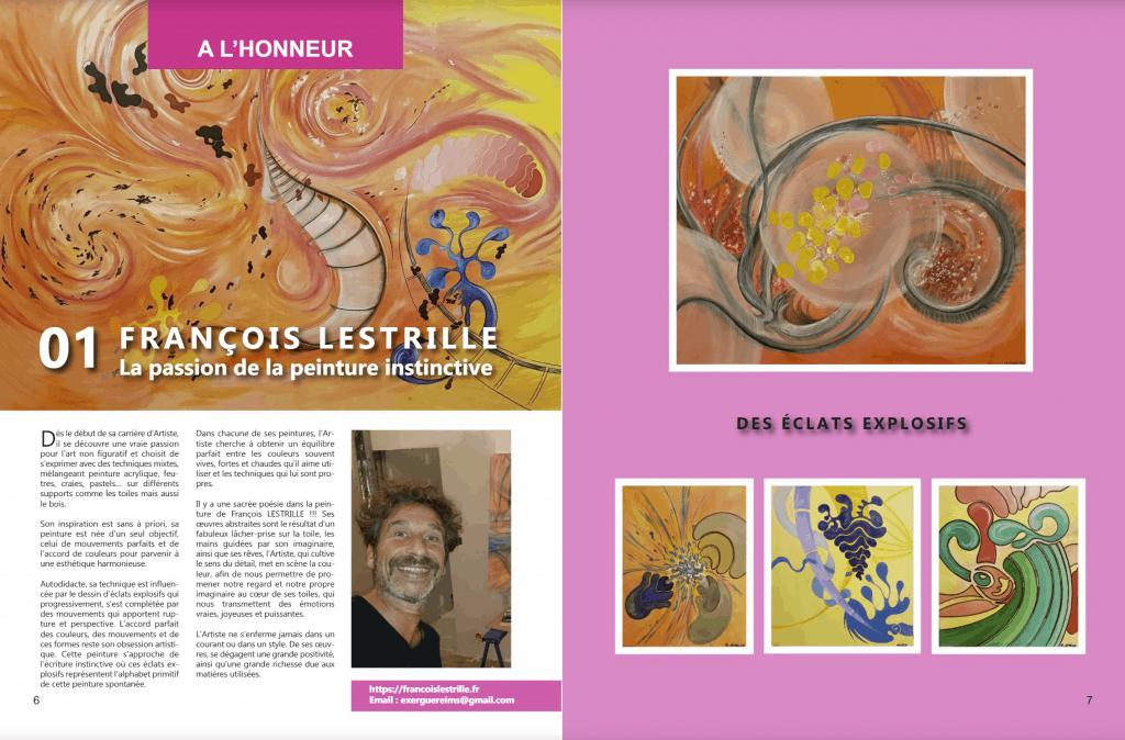 article art4any janvier 2021 François LESTRILLE